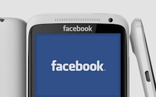Facebook Home: Will There Be Ads? image facebookphone1