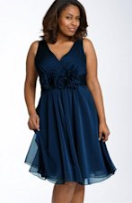 Adrianna Papell plus-size dress, $93.