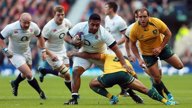 Rugby - Injured England prop Vunipola to miss All Blacks clash