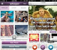 App Focus Changes to Expect in 2014 image Whisper app