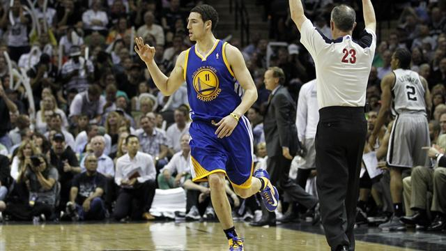 Basketball - Golden State beat Spurs to level series at 1-1
