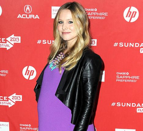 "Kristen Bell on Her Pregnancy: ""I'm Very Aware of What I'm Putting in My Body"""