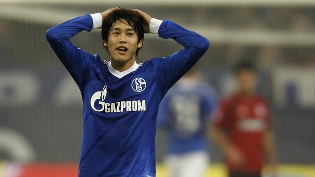 Bundesliga - Schalke lose Uchida to thigh injury