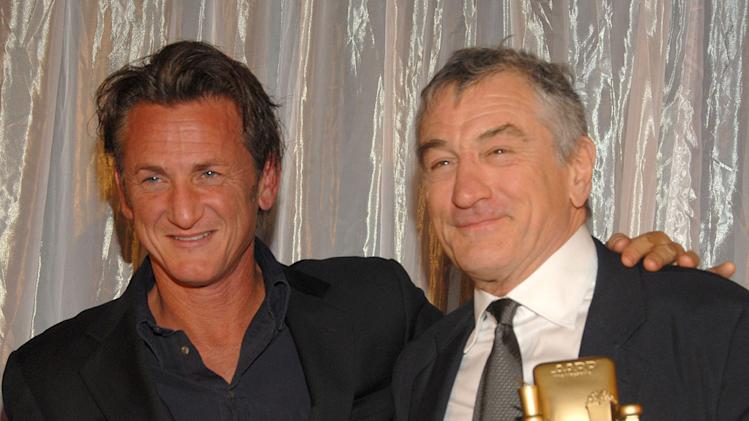 9th Annual Movies For Grownups Award Gala 2010 Sean Penn Robert De Niro