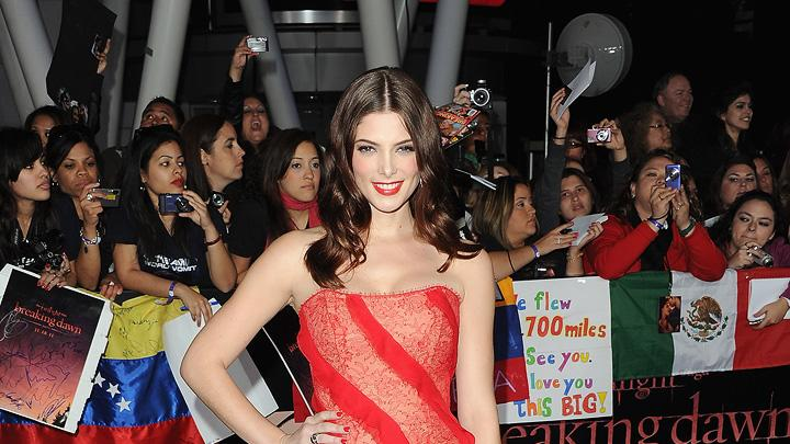The Twilight Saga Breaking Dawn Part 1 2011 LA Premiere Ashley Greene