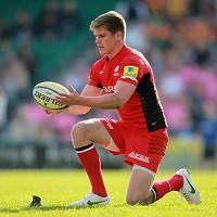Owen Farrell kicked six penalties including the winning strike on 74 minutes