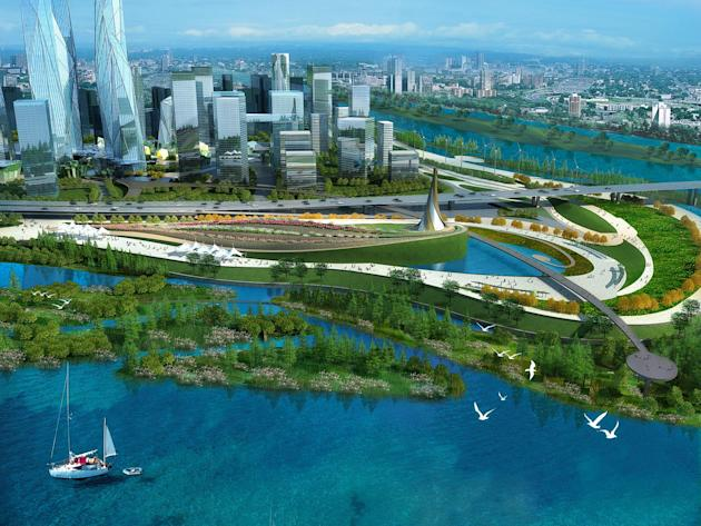 China's ancient capital to get stunning waterfront