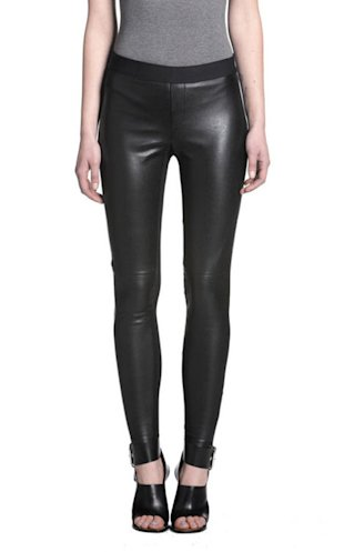 Bailey 44 Longfellow leather pants, $256, bailey44.com