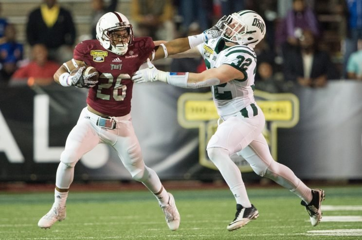 Troy edged out Ohio in sloppy game.