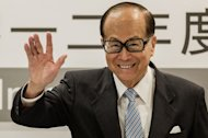 Asia's richest man, Li Ka-shing, pictured during a press conference in Hong Kong, on August 2, 2012. A consortium led by Li has agreed to buy a Dutch waste management company, in a deal worth more than $1 billion