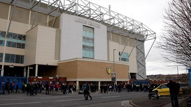 Elland Road - home ground of Leeds United.