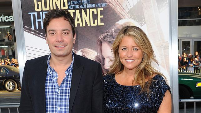 Going the Distance LA Premiere 2010 Jimmy Fallon Nancy Juvonen
