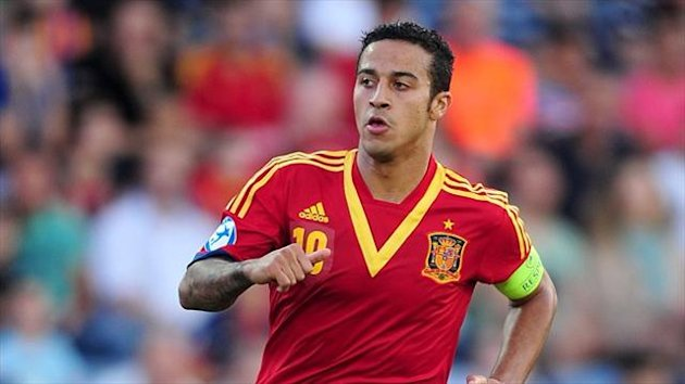 Thiago Alcantara says Manchester United never made a serious move to sign him