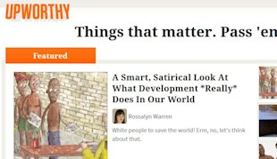 Upworthy Sees Traffic Cut In Half After Facebook News Feed Tweaks image upworthy facebook