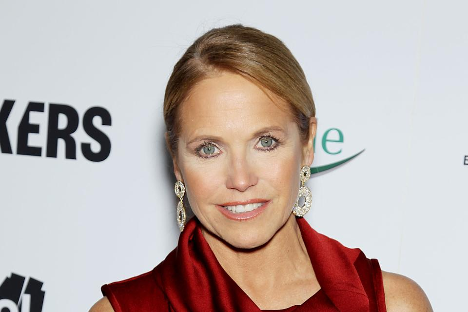 "FILE - This Feb. 6, 2013 file photo released by Starpix shows TV personality Katie Couric at the premiere of ""Makers: Women Who Make America"" at Alice..."