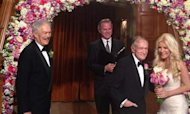 Playboy Hugh Hefner Marries His Runaway Bride