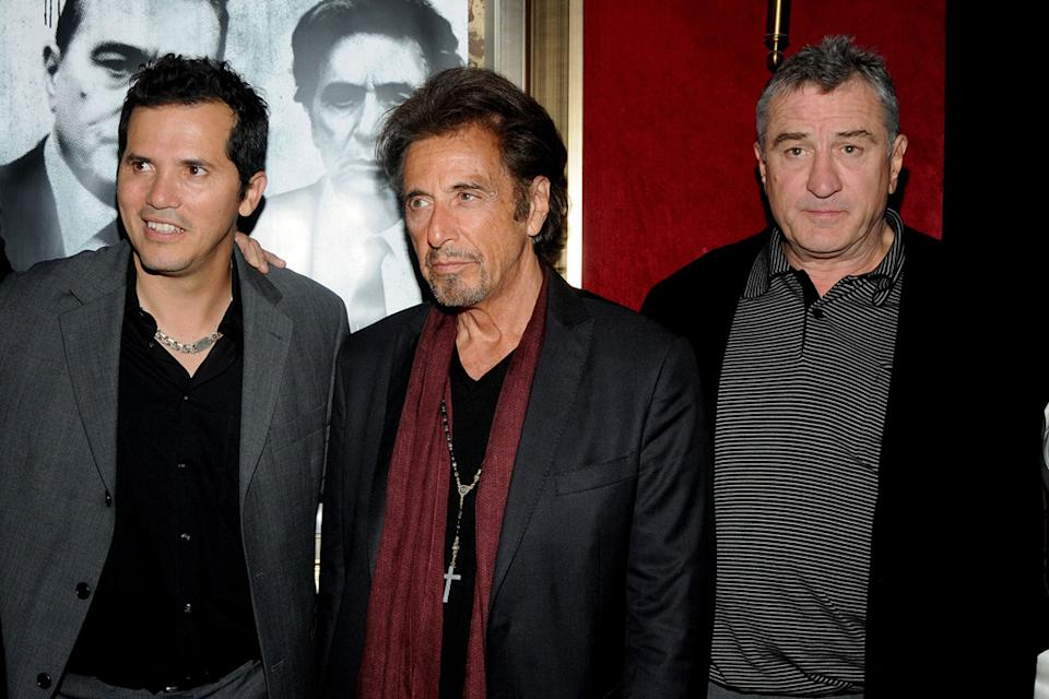 Righteous Kill NY Premiere 2008 John Leguizamo Al Pacino Robert DeNiro
