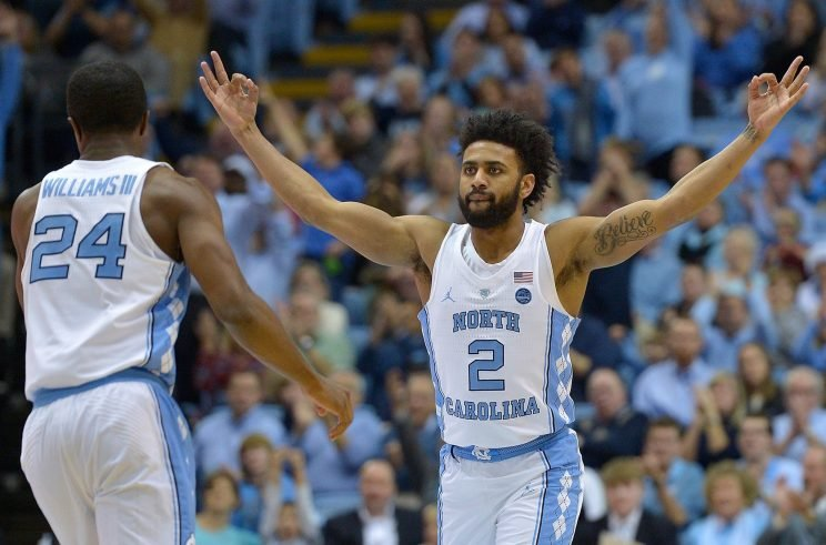 Joel Berry scored 31 much-needed points as North Carolina got by Clemson and avoided an 0-2 start to ACC play. (Getty)
