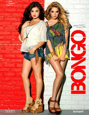 Lucy Hale, Ashley Benson Replace Audrina Patridge for Bongo