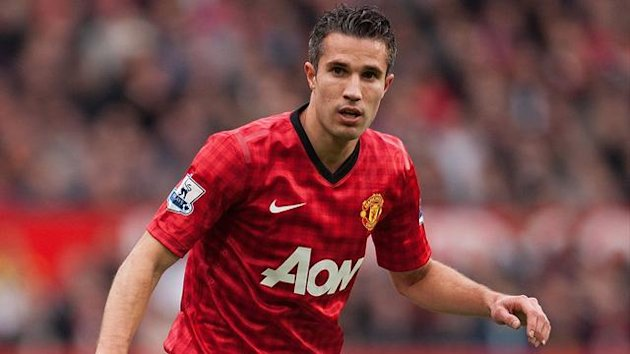 FOOTBALL 2012 Manchester United - Van Persie