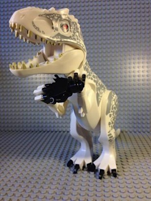 Jurassic World New Dinosaur First Look image Jurassic World D Rex Lego 2 449x600