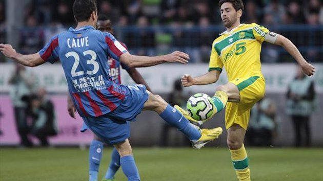 FOOTBALL Nantes 2013 Filip Djordjevic (R)