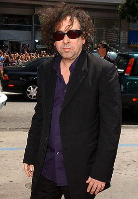 Tim Burton at the LA premiere of Warner Bros. Pictures' Charlie and the Chocolate Factory