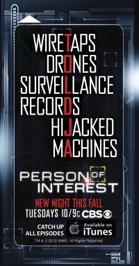 J.J. Abrams' 'Person Of Interest' Honored As 2013 Comic-Con's Key Card In 30 Hotels