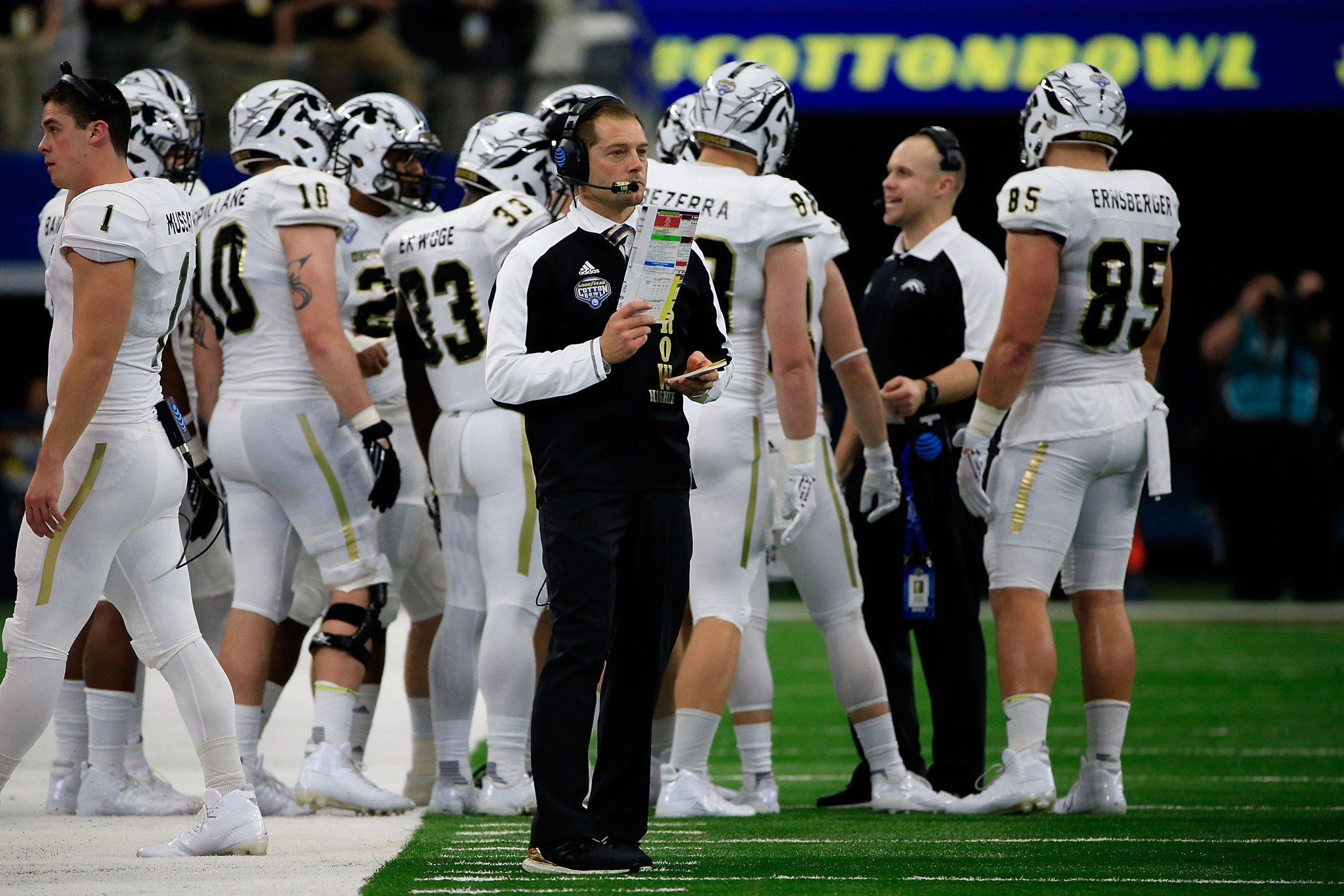 P.J. Fleck has gone 29-11 in three seasons after a 1-11 first season at WMU. (Getty)