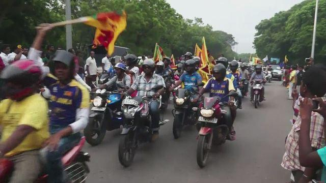 Sri Lanka's cricket team welcomed home as World Twenty20 champions
