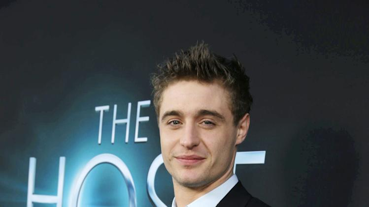 Max Irons at Open Road Films Los Angeles Premiere of 'The Host' held at the ArcLight Hollywood, on Tuesday, March, 19, 2013 in Los Angeles. (Photo by Eric Charbonneau/Invision for Open Road Films/AP Images)