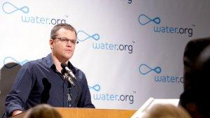 Potty-Mouthed Matt Damon Continues His Global Crusade for Toilets (Video)