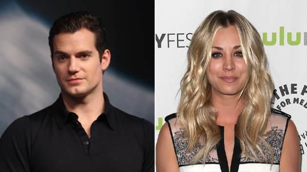 Henry Cavill, Kaley Cuoco -- Getty Images