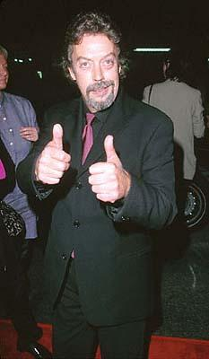 Premiere: Tim Curry at the Mann's Chinese Theater premiere of Columbia's Charlie's Angels - 10/22/2000