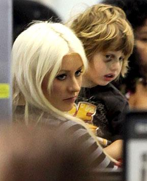 How Christina Aguilera's Son Max, 3, Got a Black Eye