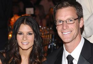 Danica Patrick and Paul Hospenthal | Photo Credits: Stefanie Keenan/Getty Images