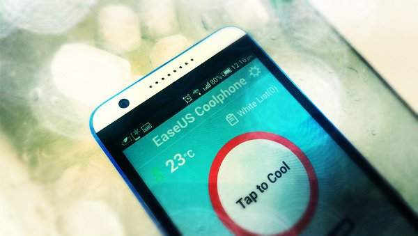 Android 手機過熱 stop!EaseUS Coolphone-Cool Battery