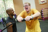 Dolvett Quince and Jackson Carter seen on 'The Biggest Loser's' 'Down To The Wire' episode on March 11, 2013 -- NBC