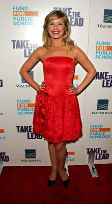 Katya Virshilas at the NY premiere of New Line Cinema's Take the Lead