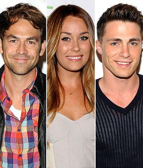 Lauren Conrad Flirts With Ex AND Teen Wolf's Colton Haynes!
