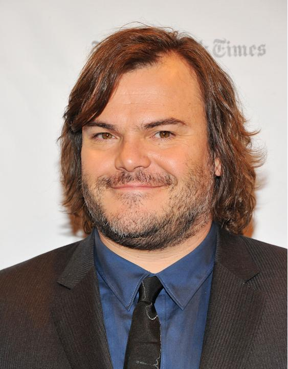 Jack Black at fifth spot.