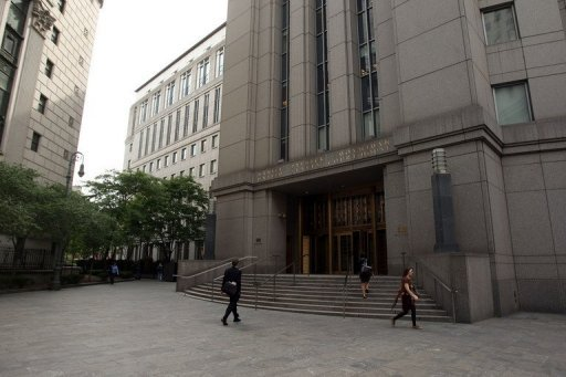 This file photo shows the building where the US Second Circuit Court of Appeals resides, pictured in 2009, in New York City. The court on Tuesday rejected a motion by hedge funds to force Argentina to make a security deposit as Buenos Aires seeks to overturn an order that it repay $1.3 billion to holders of defaulted bonds.