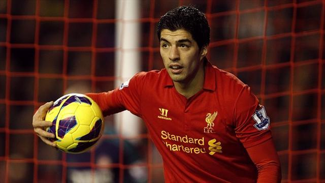 Premier League - Suarez 'laughs' at prospect of Chelsea, welcomes Arsenal interest