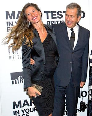 PICTURE: Gisele Bundchen Rocks Growing Baby Bump in Tight Dress