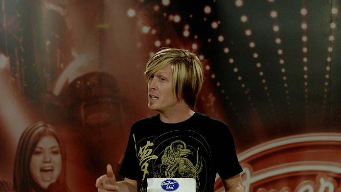 Charleston contestant: Kenton Fosters, 25, Nashville, TN auditioning on the 7th season of American Idol.