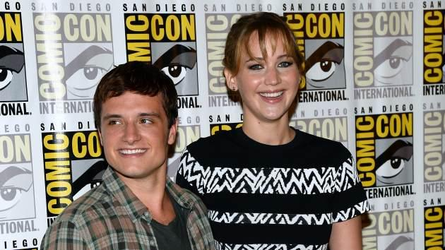 Jennifer Lawrence attend Lionsgate's 'The Hunger Games: Catching Fire' during Comic-Con International 2013 at the Hilton San Diego Bayfront Hotel on July 20, 2013 in San Diego -- Getty Premium