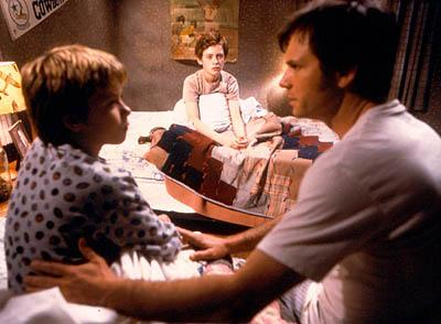 Jeremy Sumpter , Matthew O'Leary and Bill Paxton in Lions Gate's Frailty