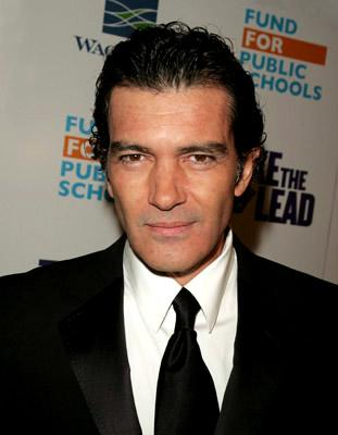 Antonio Banderas at the NY premiere of New Line Cinema's Take the Lead