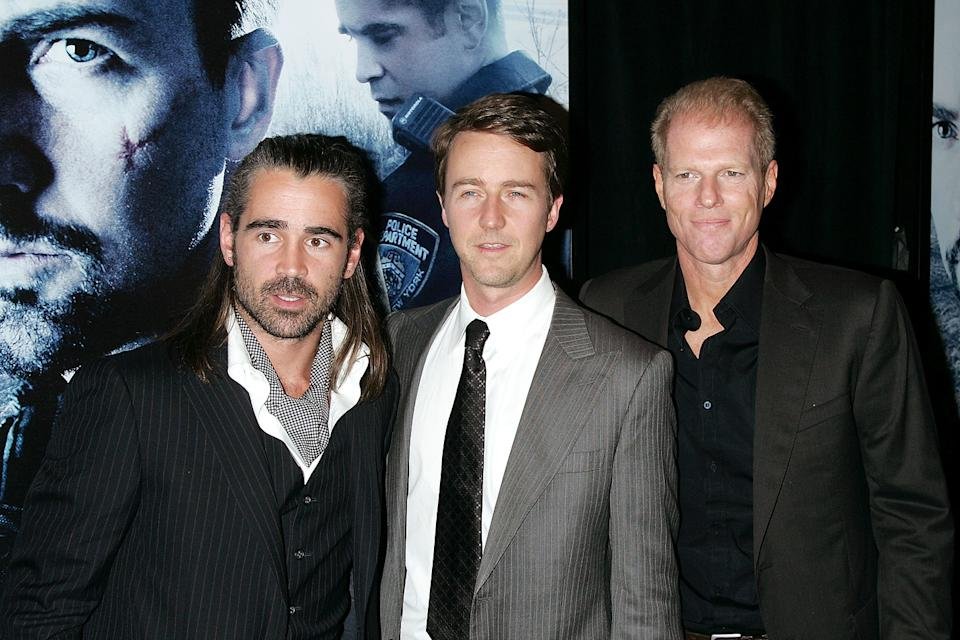 Pride and Glory NY Premiere 2008 Colin Farrell Edward Norton Noah Emmerich