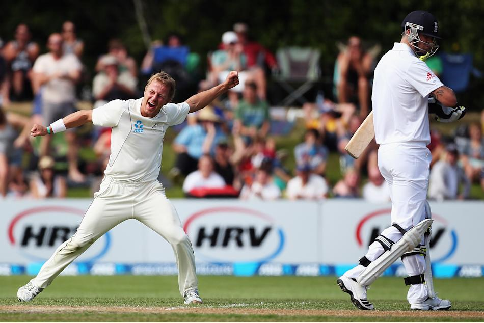 New Zealand v England - 1st Test: Day 5